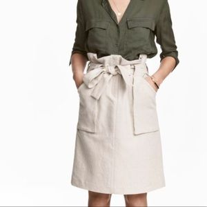 H&M Cargo Skirt with Belt